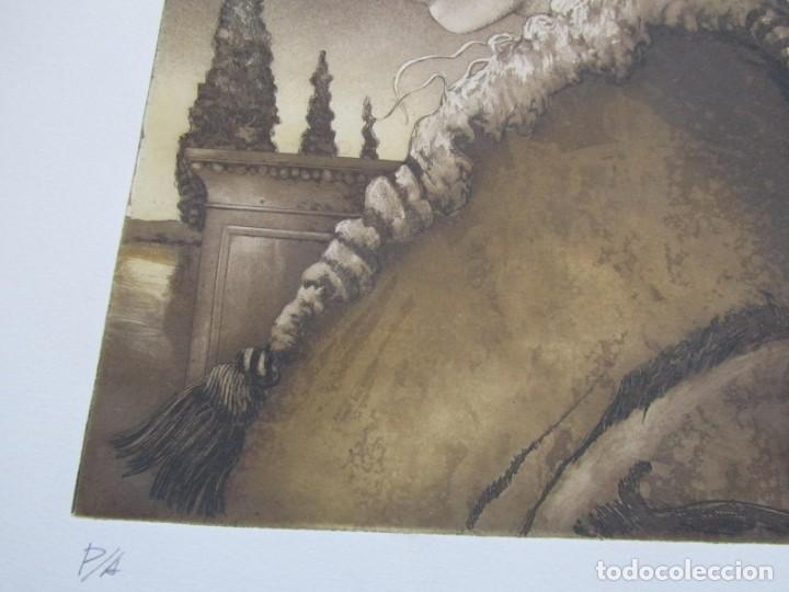 Arte: Litografía prueba de autor Vicente Arnás Lozano - Foto 6 - 194217608