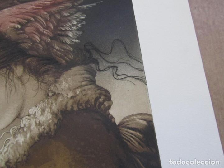 Arte: Litografía prueba de autor Vicente Arnás Lozano - Foto 7 - 194217608