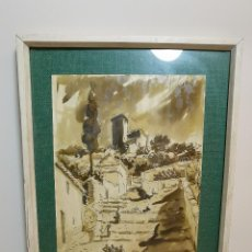 Arte: QUESADA GUILABERT, JULIO - ALBARRACIN (GRANADA) 1955. Lote 194226015