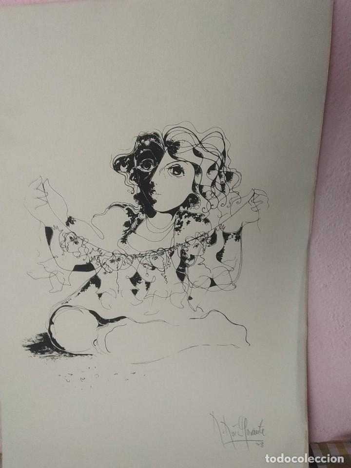Arte: Bonita litografía firmada por Ruiz Morante - Foto 3 - 194230626