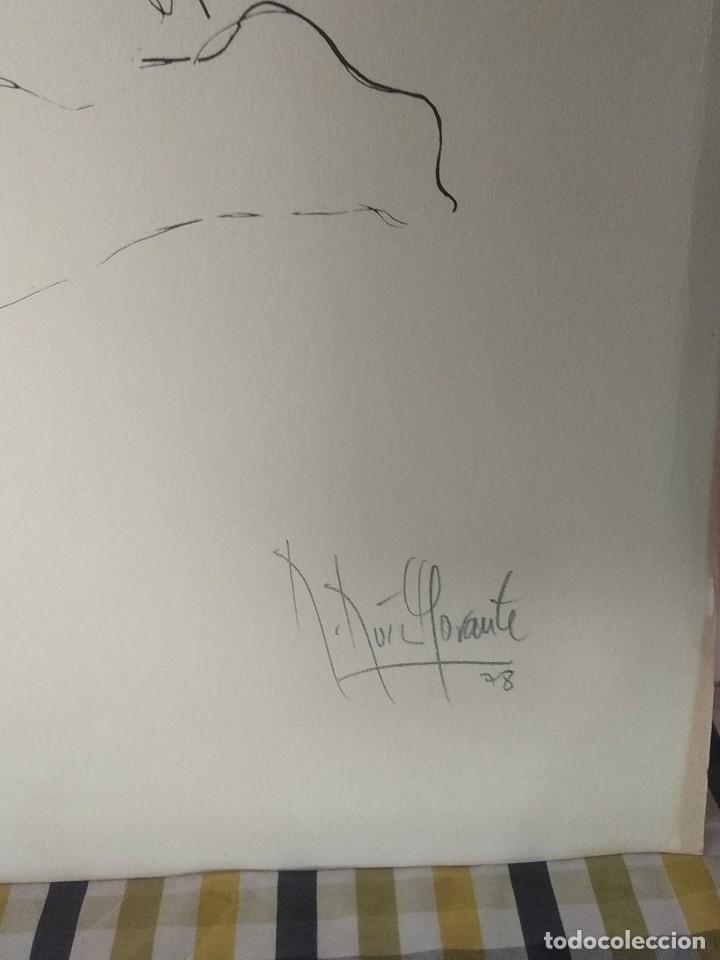 Arte: Bonita litografía firmada por Ruiz Morante - Foto 4 - 194230626