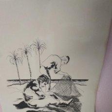 Arte: LITOGRAFÍA TINTA DE RUIZ MORANTE . Lote 194230762