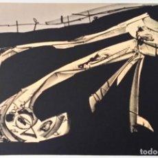 Arte: ANTONIO SAURA, DIARIOS DE KAFKA, LITOGRAFÍA FIRMADA Y NUMERADA DE LA SUITE, 1988. Lote 194366041