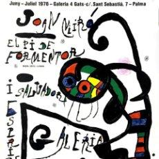 Arte: JOAN MIRÓ (1893-1983). Lote 194367991