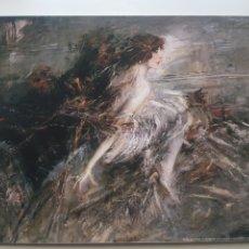 Arte: GIOVANNI BOLDINI : THE MARCHESA LUISA CASATI. LITOGRAFIA ORIGINAL LEGAL CON MATRICULA. Lote 194502817