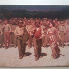 Arte: GIUSEPPE PELLIZZA VOLPEDO: IL QUARTO STATO. LITOGRAFIA ORIGINAL LEGAL CON MATRICULA DE EDICION. Lote 194503436