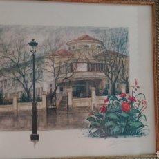 Arte: LITOGRAFÍA DE E. LÓPEZ BERRÓN. Lote 194509170
