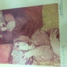 Arte: LITOGRAFIA DE ALVAR SUÑOL. Lote 194520948