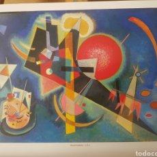 Arte: WASSILY KANDINSKY : IN BLUE, 1925. LITOGRAFIA ORIGINAL CON MATRICULA LEGAL DEL EDITOR. Lote 194558575