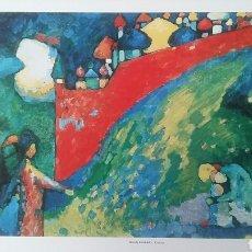 Arte: WASSILY KANDINSKY: CUPOLAS, 1909. LITOGRAFÍA ORIGINAL CON MATRÍCULA LEGAL DEL EDITOR. Lote 194561162
