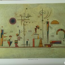 Arte: WASSILY KANDINSKY : SERIOUS-JOKE, 1930 . LITOGRAFÍA ORIGINAL CON MATRÍCULA LEGAL DEL EDITOR. Lote 194562022