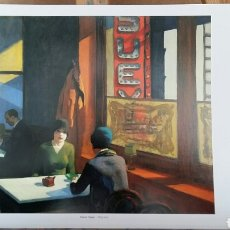 Arte: EDWARD HOPPER : CHOP SUEY, 1929. LITOGRAFÍA ORIGINAL CON MATRÍCULA LEGAL DEL EDITOR. Lote 194593608