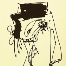 Arte: ANTONIO SAURA – SIN TÍTULO, Nº 19 – CON CERTIFICADO DE AUTENTICIDAD. Lote 194627718
