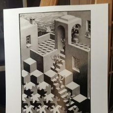Arte: M. C. ESCHER: CYCLE, 1938. LITOGRAFIA ORIGINAL CON MATRÍCULA LEGAL DE EDICIÓN. Lote 194630197
