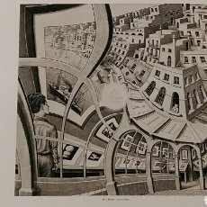 Arte: M. C. ESCHER: PRINT GALLERY, 1956. LITOGRAFÍA ORIGINAL CON MATRÍCULA LEGAL DE EDICIÓN.. Lote 194633513