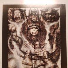 Arte: H.R. GIGER: N° 358, ILLUMINATUS I. LITOGRAFIA ORIGINAL CON MATRICULA LEGAL DEL EDITOR. Lote 194721256
