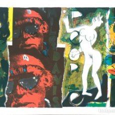 Arte: PACO SIMON (1957). Lote 194778895