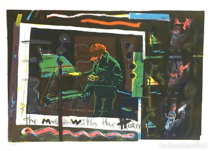 PACO SIMON (1957) (Arte - Litografías)
