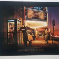 Arte: CHRIS CONSANI: ELVIS, BOGART, MARILYN, DEAN EN CABINA . LITOGRAFIA ORIGINAL CON MATRICULA LEGAL. Lote 194870903