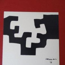 Arte: LITOGRAFIA DE EDUARDO CHILLIDA, 1975. Lote 194878818