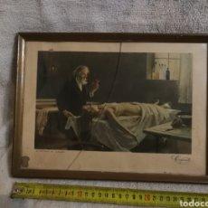 Arte: CUADRO CEREGUMIL. LA ANATOMIA DEL CORAZON. COLECCION ESTAMPAS MEDICAS.. Lote 194911896