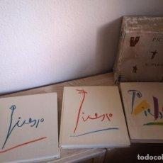 Arte: ANTIGUOS LIBROS DE PABLO PICASSO CERCLE DART PARIS 1963,64,65. Lote 194937117