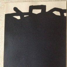 Arte: CHILLIDA,EDUARDO LITOGRAFÍA. Lote 194943700