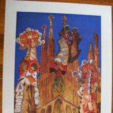 Arte: LITOGRAFÍA ROLLÁN. SAGRADA FAMILIA. Lote 195001447