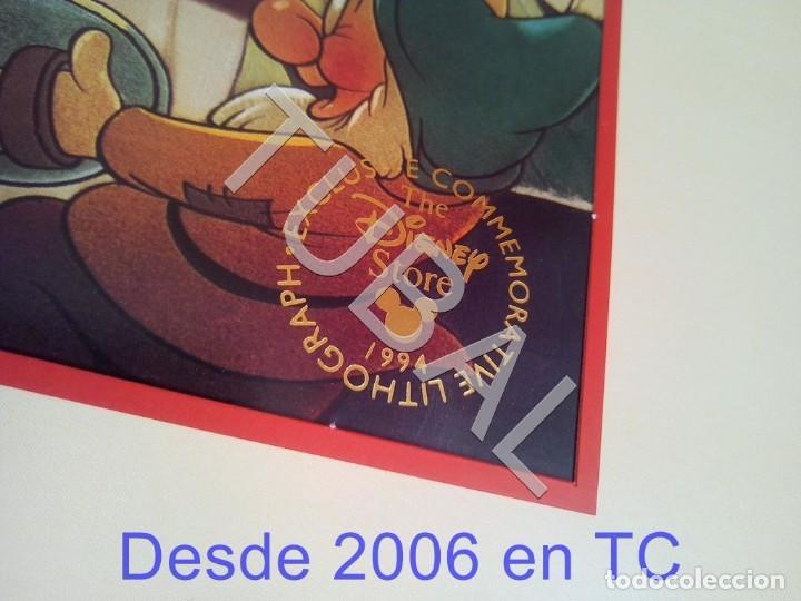 Arte: TUBAL BLANCANIEVES LITOGRAFIA SNOW WHITE Lithography WALT DISNEY 1994 ENVÍO 4,99 € PARA 2020 - Foto 2 - 195031731