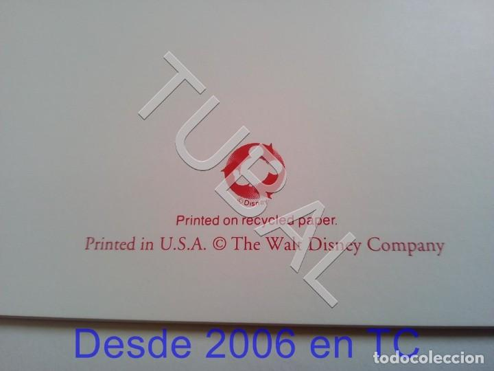 Arte: TUBAL BLANCANIEVES LITOGRAFIA SNOW WHITE Lithography WALT DISNEY 1994 ENVÍO 4,99 € PARA 2020 - Foto 5 - 195031731