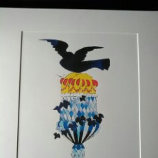Arte: ANDY WARHOL. LITOGRAFÍA ORIGINAL NUMERADA A LÁPIZ 314/1000.ICE CREAM AND BIRD.. Lote 195160762