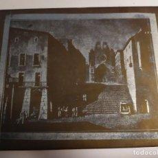 Arte: TARRAGONA PLANCHA METAL ANTIGUA LITOGRÁFICA SERIGRÁFICA . Lote 195251946
