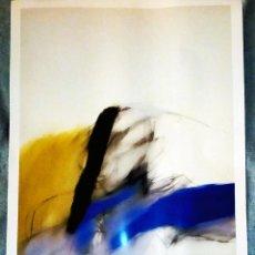 Arte: LITOGRAFÌA DE ZOBEL FERNANDO - DOS DE MAYO IV- 1984- DEL MUSEO ARTE ABSTRACTO ESPAÑOL CUENCA-96 X 66. Lote 195326701