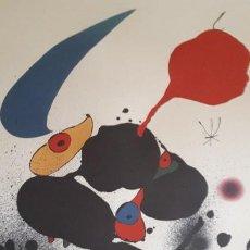 Arte: LITOGRAFIA JOAN MIRO. Lote 195366450