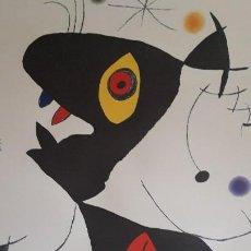 Arte: LITOGRAFIA JOAN MIRO. Lote 195383458