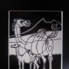 Arte: AZULEJO DE CESAR MANRIQUE.. Lote 195389971
