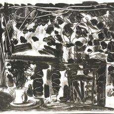 Arte: MIGUEL ANGEL CAMPANO (1948). Lote 195459051