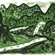 Arte: MIGUEL ANGEL CAMPANO (1948). Lote 195459506
