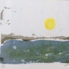 Arte: LITOGRAFÍA JOSÉ BEULAS 48/100 AMANECER. Lote 195490775