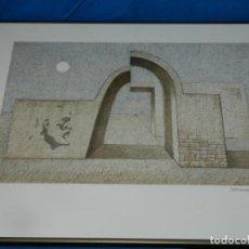 Arte: (M) LITOGRAFIA DE SUBIRACHS - OBRA GRÁFICA NUMERADA 171/425, ENMARCADA, 54,5X43,5CM. Lote 195743643