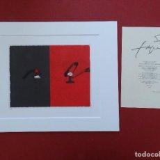 Arte: ANTONI TAPIES + CERTIFICADO DE AUTENTICIDAD. Lote 195961636