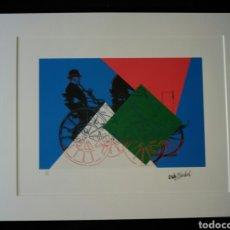 Arte: 230€!! ANDY WARHOL. LITOGRAFÍA ORIGINAL.DAIMLER MOTOR. PRECIO ESTIMADO 230€. Lote 196030167