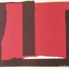 Arte: RAFAEL CANOGAR. LITOGRAFÍA SINAÍ. POLÍGRAFA. CERTIFICADO AUTENTICIDAD, FASCÍCULO Y CARPETA.. Lote 196070990