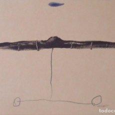 Arte: RIERA I ARAGÓ. LITOGRAFÍA SUBMARINO. POLÍGRAFA. CERTIFICADO AUTENTICIDAD, FASCÍCULO Y CARPETA.. Lote 223952371