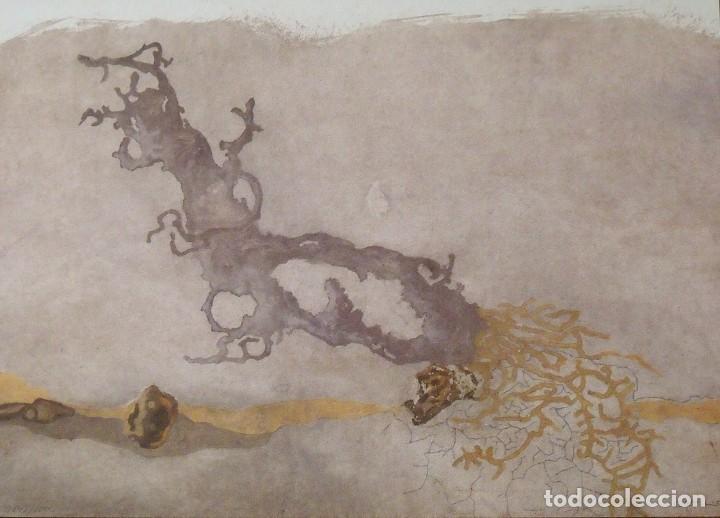 JORGE CASTILLO. LITOGRAFÍA. CERTIFICADO AUTENTICIDAD, FASCÍCULO Y CARPETA. (Arte - Litografías)