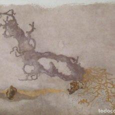 Arte: JORGE CASTILLO. LITOGRAFÍA. CERTIFICADO AUTENTICIDAD, FASCÍCULO Y CARPETA.. Lote 196089120
