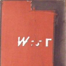 Arte: SERGI AGUILAR. LITOGRAFÍA W-EST. CON CARPETA. FIRMADA EN PLANCHA Y NUMERADA A 937/1000.. Lote 196090408