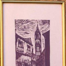 Arte: LITOGRAFIA TOLEDO FIRMADA Nº 15/60. Lote 196115022