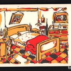 Arte: LUIGI VIOLA DORMITORIO LITOGRAFIA ORIGINAL FIRMADA FECHADA 96 Y NUMERADA A LÁPIZ III / XXX ITALIANO. Lote 196219020