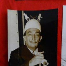 Arte: LOTE DE 3 BONITAS FOTOGRAFIAS DE SALVADOR DALI + BRIGITTE BARDOT+ MARILYN MONROE. Lote 197196205